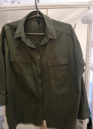 Крутая рубашка куртка