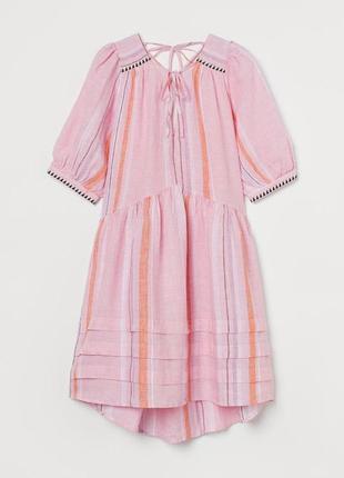 Платье льяное