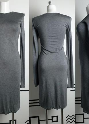Трикотажное платье миди acne studios