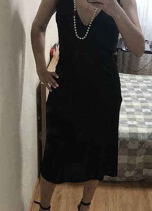 Вечернее платье с открытой спиной размер 12 / на выпускной/ корпаратив/karen millen