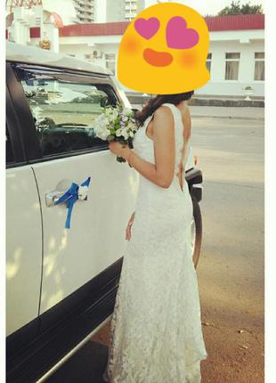 Эксклюзивное свадебное платье индивидуального пошива