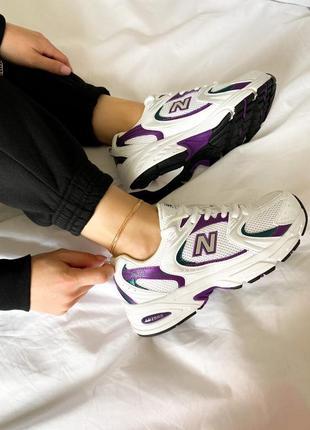 Женские кроссовки nb 530,new balance летние на шнурках