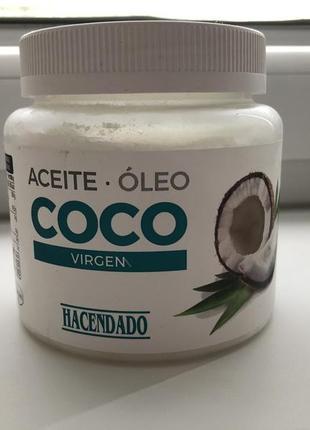 Органическое кокосовое масло 450г. (испания)