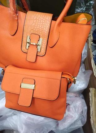 Комплект сумок 2 в 1/италия