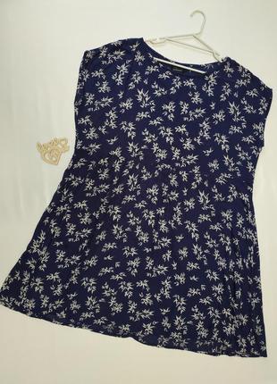 Пляжное свободное тонкое короткое платье  /yessica 44-48
