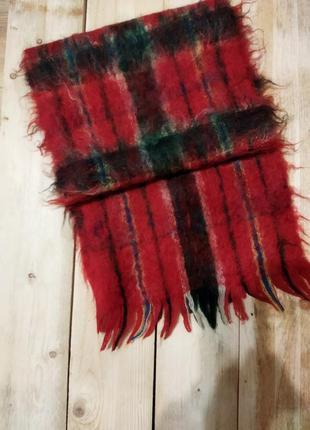 Редкость новый мохеровый шарф