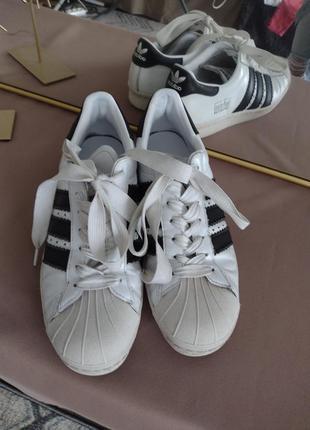 Кроссовки adidas superstar 42,5 размер 27 см