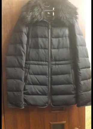Зимняя куртка на пуху zara