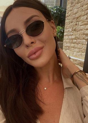 Солнцезащитные очки в стиле max mara