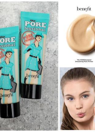 База под макияж benefit the porefessional face primer