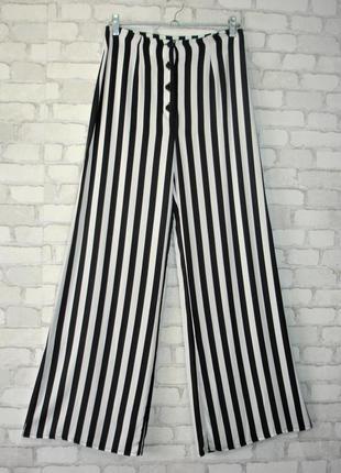 """Широкие брюки в полоску """"miss selfridge """"    moldavie"""