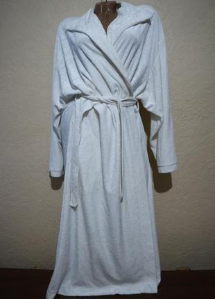 Суперский дорогой велюровый халат charmor размер  m l xl