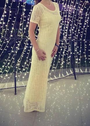 Платье вечернее в пол фирмы angel paris