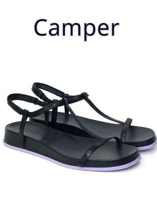 Кожаные женские сандалии босоножки camper оригинал