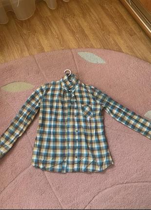 Женская клетчатая рубашка house