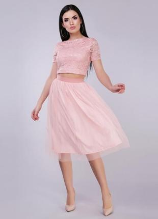Костюм юбка и топ, юбка и футболка, костюм с юбкой, вечерний комплект