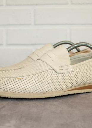 Комфортные кожаные туфли от carlo pazoloni 40 размер