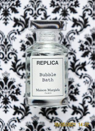 Нишевый парфюм maison martin margiela replica аромат bubble bath духи edt 7 мл
