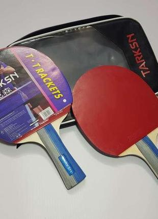 Профессиональные ракетки для настольного тенниса, tarksn, комплект. новые!
