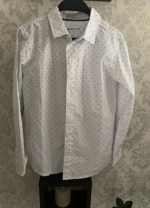 Хлопковая рубашка 128р