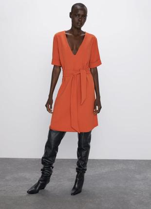 Сукня zara, l,   виріз трошки менше, ніж на картинці