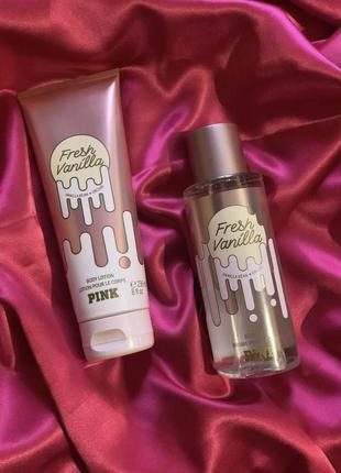 Мист  pink fresh vanilla от victoria's secret1 фото
