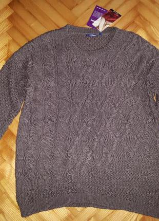 Теплейший свитер от charles voegele! p.-xl/2xl! батал!