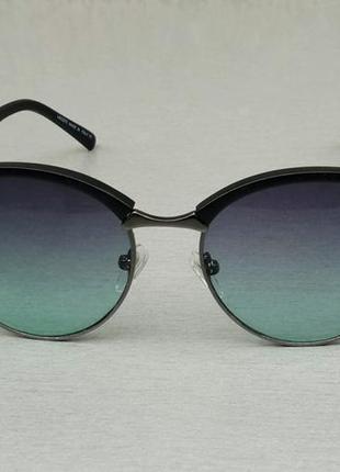 Lacoste очки унисекс солнцезащитные линзы серо бирюзовые с градиентом