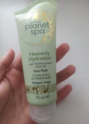 Avon planet spa heavenly hydration face mask маска для лица с маслом оливы