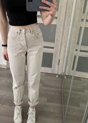 Джинсы, mom jeans, мом джинс