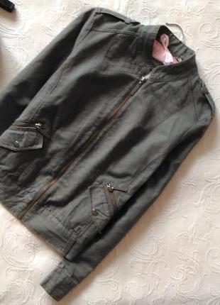 Куртка ветровка в стиле милитари)))обалденного качества ))) пог 54 см.