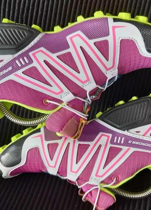 Бомбезные кроссовки salomon3 фото