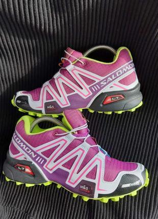 Бомбезные кроссовки salomon2 фото