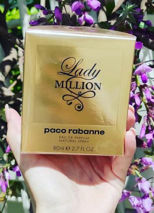 Женская парфюмированная вода  lady million  80 мл