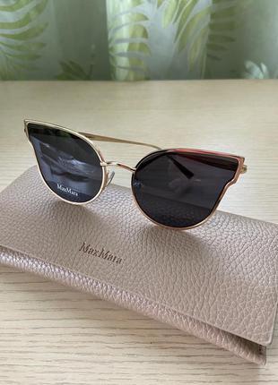Женские брендовые солнечные очки max mara;  оригинал
