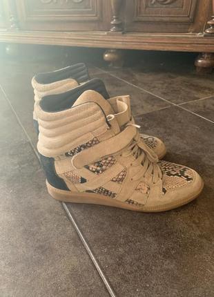 Сникерсы кроссовки питон