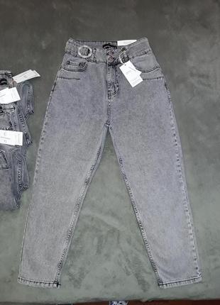 Стильная новинка женские джинсы мом