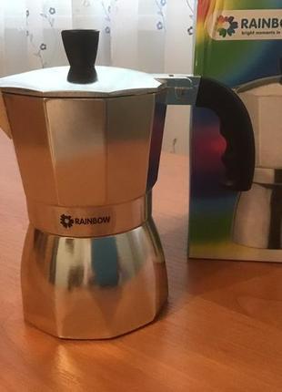 Кофеварка гейзер на 3 чашки