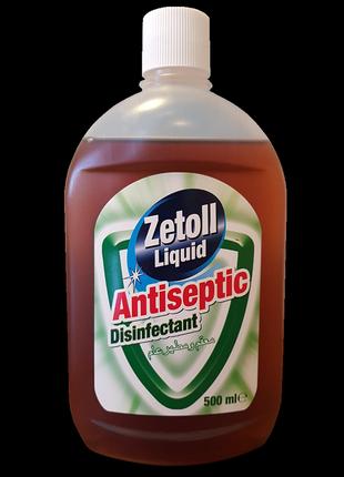 Дезінфікуючий засіб-антисептик zetoll, 500 мл