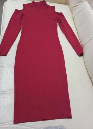 Шикарное платье водолазка 🔥