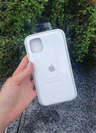 Чехол  silicone case для айфон iphone 11