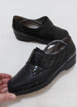 Мега удобные, кожаные босоножки, сандалии waldlaufer р. 39-40 (26 см) германия
