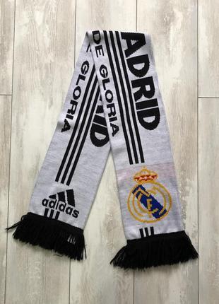 Винтажный шарф adidas real madrid вінтаж