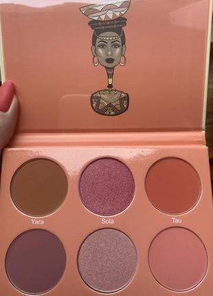 Румяна juvia's place  saharan blush palette 2