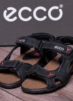 Мужские кожаные сандалии ecco active(40-45р)наложенный платеж