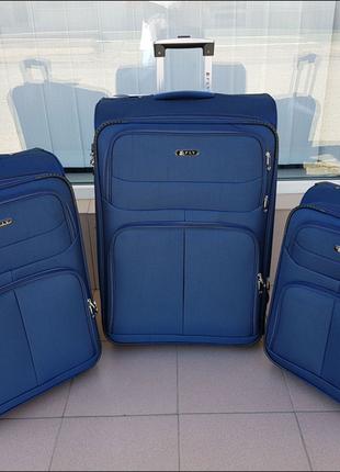 Чемодан ,текстильный чемодан ,польский бренд ,надёжный ,качественный