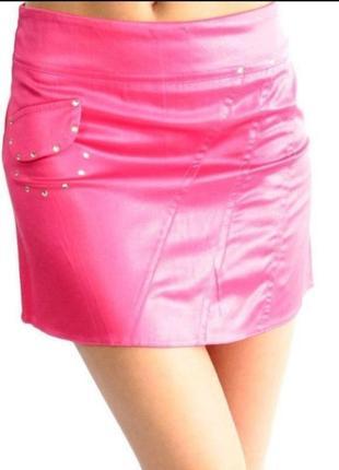 Яркая мини юбка юбочка спідниця міні