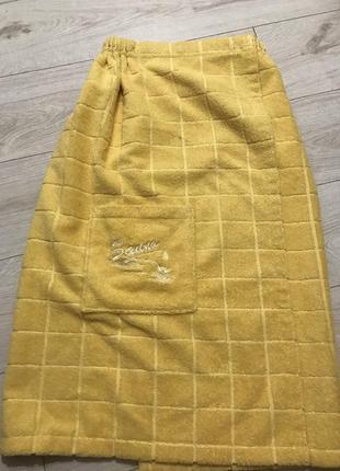 Рушник на резинці , плаття рушник із карманом