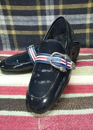 Туфли лакированные демисезонные melvin & hamilton