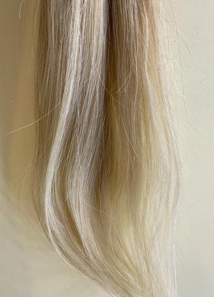 Волосы для наращивания  славянские на капсулах